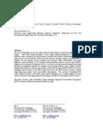 Behavior of ECC/Concrete Layer Repair System Under