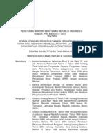 Peraturan Menteri Kehutanan Republik Indonesia Nomor :