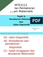 2.Kesukaran Matematik  Ujian Diagnostik (1).ppt