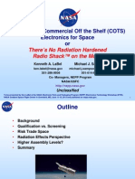 NASA COTS Electronics for Space