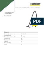 Aspiratore solidi-liquidi Karcher A 2204