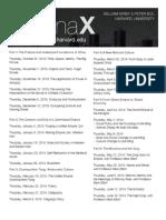 ChinaX Schedule 1 21