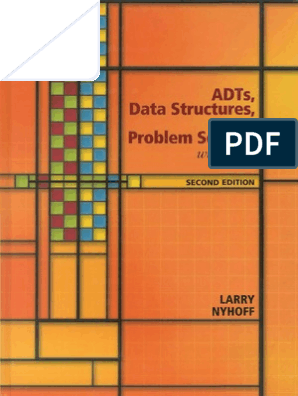 ADTs_Data_Structures_Problem_Solving_with_C++ pdf | Software
