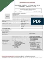 Application Form 2015-2016