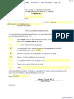 Riches v. Crandall Canyon Mine et al - Document No. 3