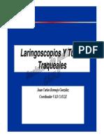Laringoscopios y Tubos
