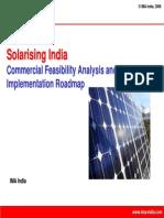 Solarising Rural India