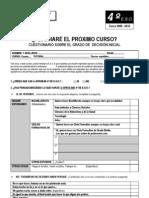 CUESTIONARIO DE DECISION INICIAL 4ºESO 2010 - RESULTADOS PDF