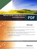 Metode QSAR-Calea Spre Noi Compuși Cu Toxicitate Redusă