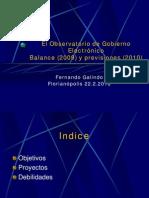 eGOBS 2009-2010