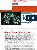 Impact of Ict on Education 7