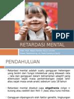 Ppt Referat Mental retardation