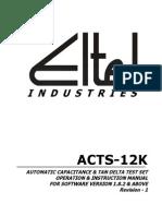 ELTEL-Tan Delta Kit Manual