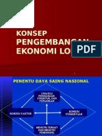 Konseppengembangan Ekonomi Lokal