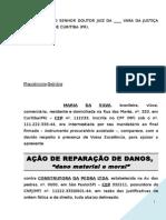 Acao Indenizacao Reclamacao Trabalhista Morte Acidente Trabalho Modelo 201 BC163