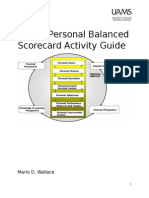 UAMS Personal Balanced Scorecard Activity Guide