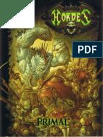 Hordes Primal Rulebook