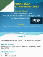 Laporan Jaga RM 11-11-12 2 Pasien