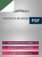 Capitulo y Proyecto de Investigacion