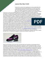 Nike Shox Oz Chaussures Pas Cher UA33