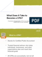 Steps to Becoming a CPA