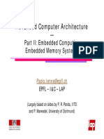 Embedded Memory Systems