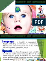 Development of Speech