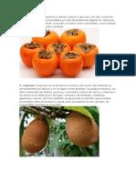 Frutas Exoticas de Santa Cruz
