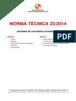 Nt 23 2014 Sistema de Chuveiros Automaticos