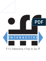 If it's interactive it has to be iff