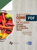 Que y Como Comemos Los Mexicanos Libro