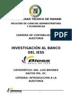 Proyecto Auditoria BIESS
