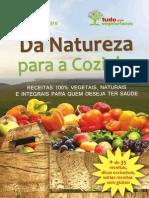 Livro Digital de Receitas Da Natureza Para a Cozinha