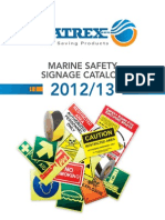 Datrex Safety Signage Catalog