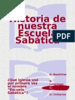 Historia Escuela Sabatica