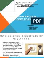 Instalaciones Eléctricas Domesticas