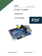 Banana PI  user manual.pdf