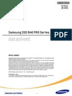 Samsung SSD 840 PRO Series