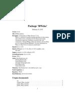 RWeka manual