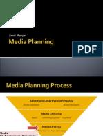 Media Planning by Amit Morya
