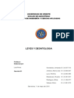 Trabajo Leyes y Deontologia
