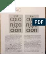 Manuel Ramos Otero, De La Colonización a La Culonización