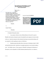 Virgin Records America, Inc v. Thomas - Document No. 89