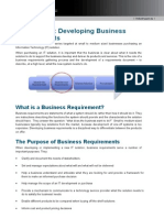 TKC Quick Guide - Business Requirements