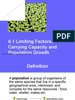6 1 limiting factor and population growth