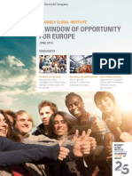 A Window of Opportunity for Europe Full Report