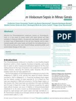 Chromobacterium Violaceum Sepsis in Minas Gerais