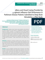 Combined Auditory and Visual Cueing Provided by Eyeglasses Inflence Gait Performance in Parkinson Disease Patients Submitted to Deep Brain Stimulation