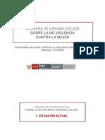 EJEMPLO DE CAMPAÑA SOCIAL MIMDES  PERÚ