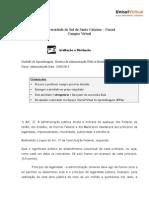 História Da Administração Pública Brasileira